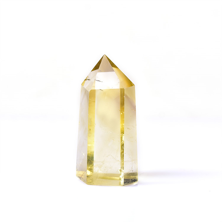 Natural citrine rough raw crystal <strong>point</strong> for sale