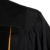 Wholesale Black Custom Design Wesley Style Clergy Robes choir robes with gold trim front