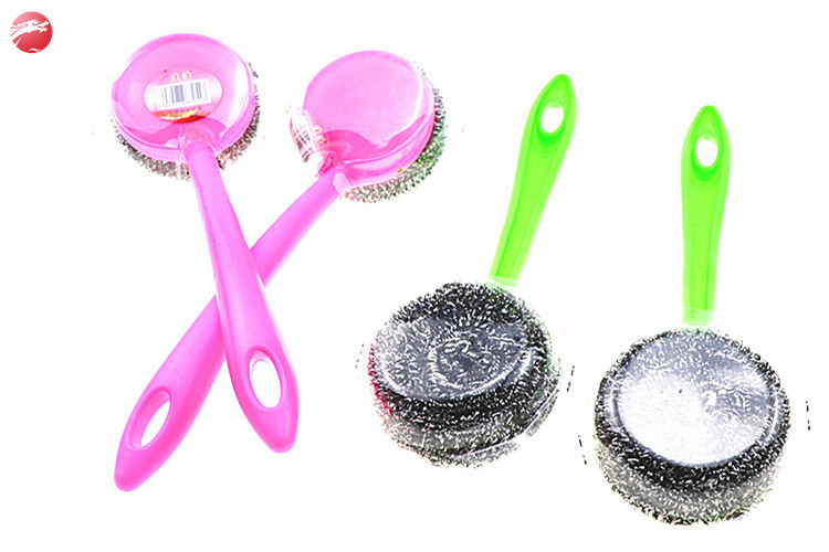 High Quality Factory Stainless Steel 410 scourer Kitchen Scrubber Dish cleaning ball