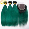 silky straight ombre color brazilian human hair extensions