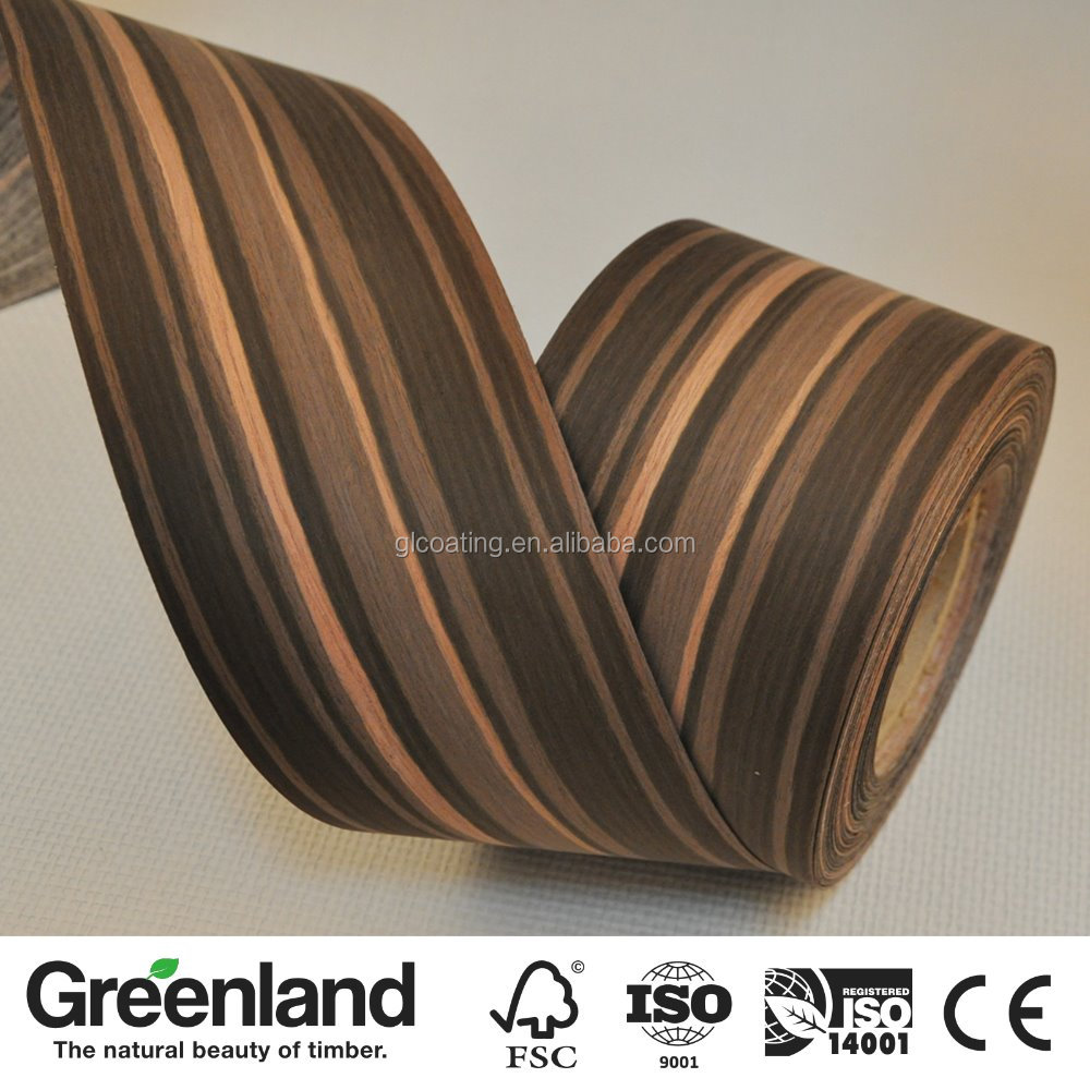 Reconstituted Ebony Edge Banding Wood Veneer Buy Edge Banding Wood Veneer Wood Veneer Polishing Finger Jointed Vneeer Product On Alibaba Com