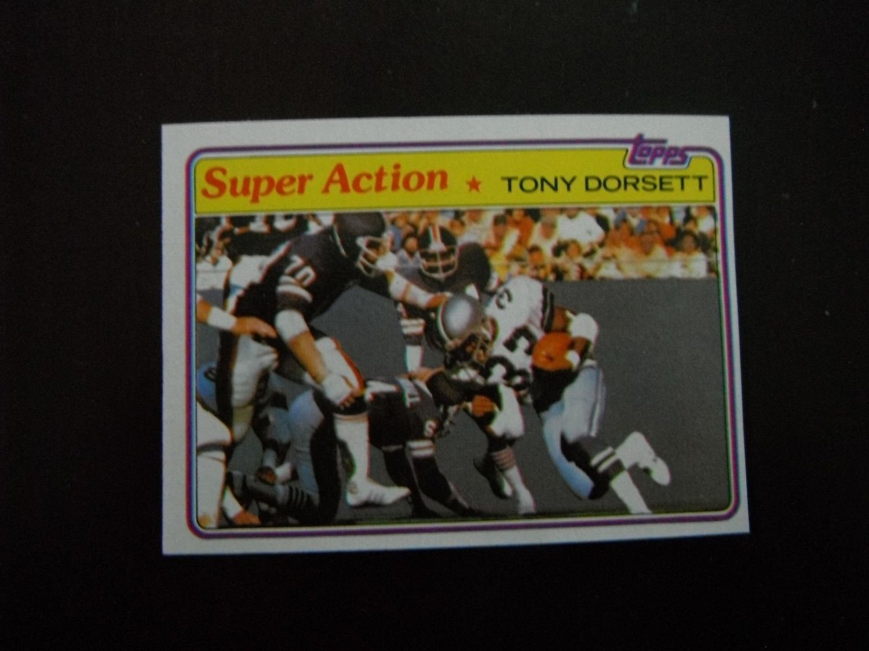 Tony Dorsett - Dallas Cowboys - Hall of Famer - 1981 Topps #138 SA Near Mint