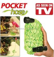25 50 75 100 Feet Expandable Flexible Garden washer/ Spray Nozzle Washer Pip Green Expandable Pocket washer