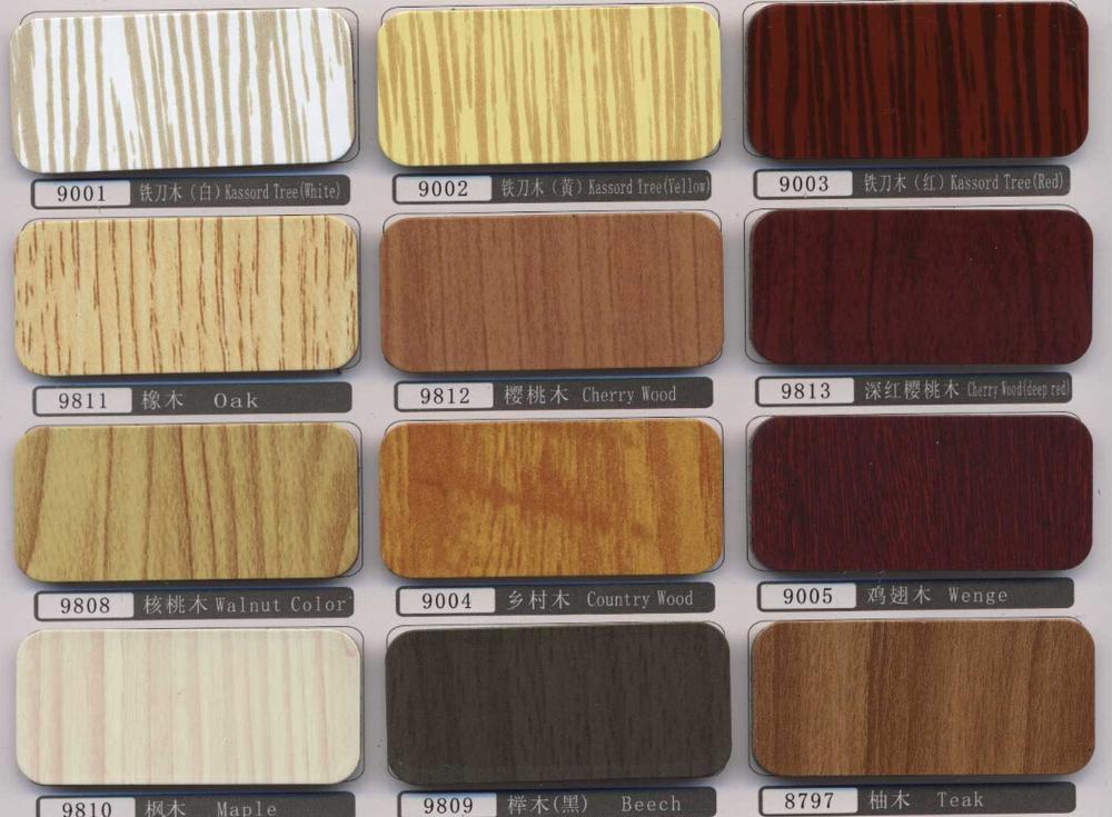 Decorative Materials Aluminum Composite Panels Acp Color