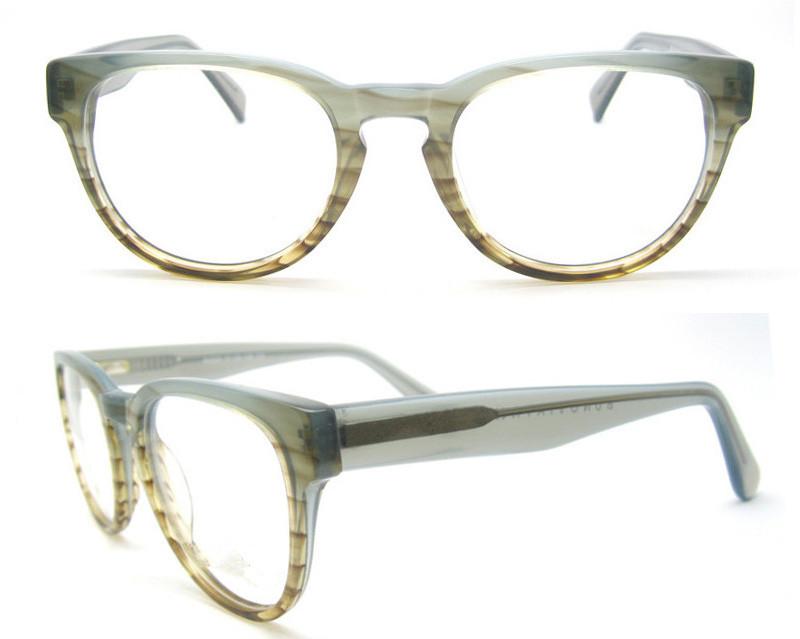 Johnny Depp retro acetato gafas 2018 gafas de moda estrella marco ...