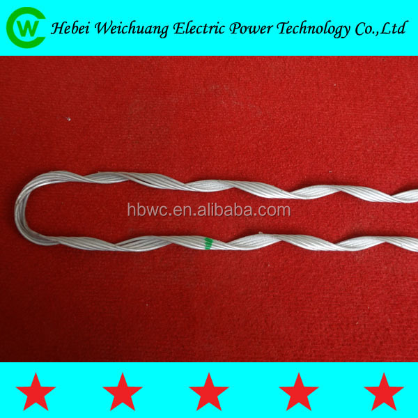 Manufacture Nonstandard Preformed Guy Wire Dead End Clamp