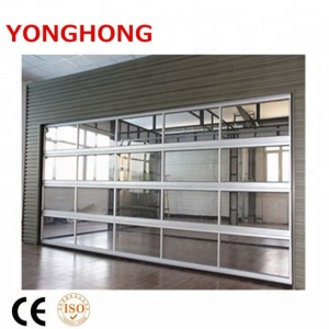 Steel security door and panel aluminum glass garage door prices
