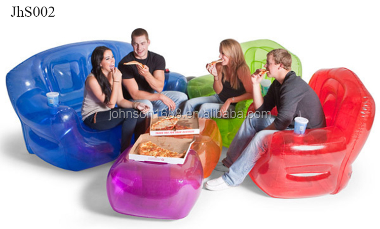 Double Inflatable Chair Blow Up Sofa Inflatable Home Furniture