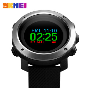 Skmei Fashion 1336 OLED Display Top Quality Fitness Men's Digital Smart Watch With Compass Waterproof