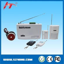 home automation GSM network security alarm system for home safety/ remote control security alarm system