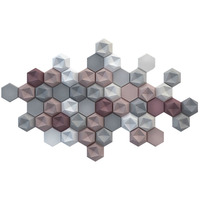 Diamond design concrete brick ,TV background plaster tile ,Natural Grey 3D Wall Decorative Brick