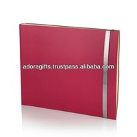 ADAPAC - 0057 popular photograph album / pink leather photo album / wedding decoration leather photo album