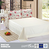Custom Floral Design Digital Printing Cotton Bed Flat Sheets