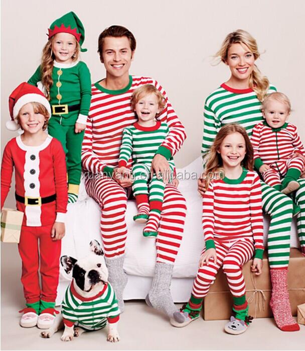 2016 Christmas Pajamas Matching Family Pajamas Adult And Kids ...