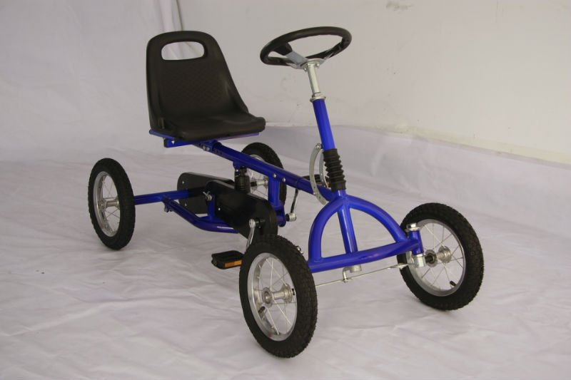 Outdoor Pedal Go Kart 4 Wheel Bicycle Super Go Kart From