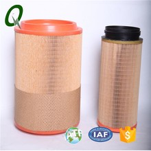 High quality Mini-Pleated PU2028 air filter element for construction machinery