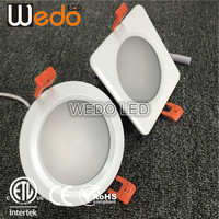 IP65 Waterproof Down Light Fixtures 7w 60deg LED Shower Light IP65 Recess