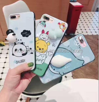Manufacturer of 2017 Squishy silicone custom made design ,squishy case for iphone 7 7Plus