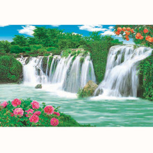Waterfall Scenery Painting Suppliers And Manufacturers At Alibaba