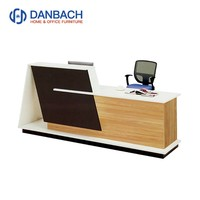 Hot Sale Modern Elegant White Reception Desk