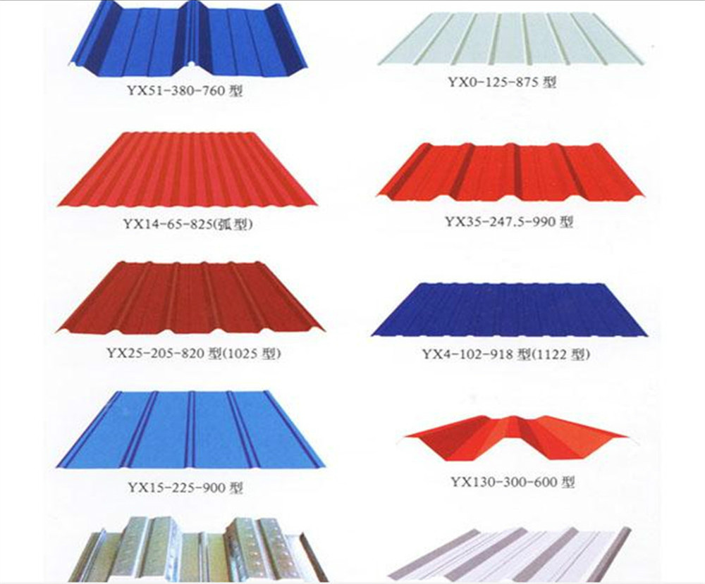 Pre Colour Coated Roofing Sheet Yx28 280 840 Manufacture