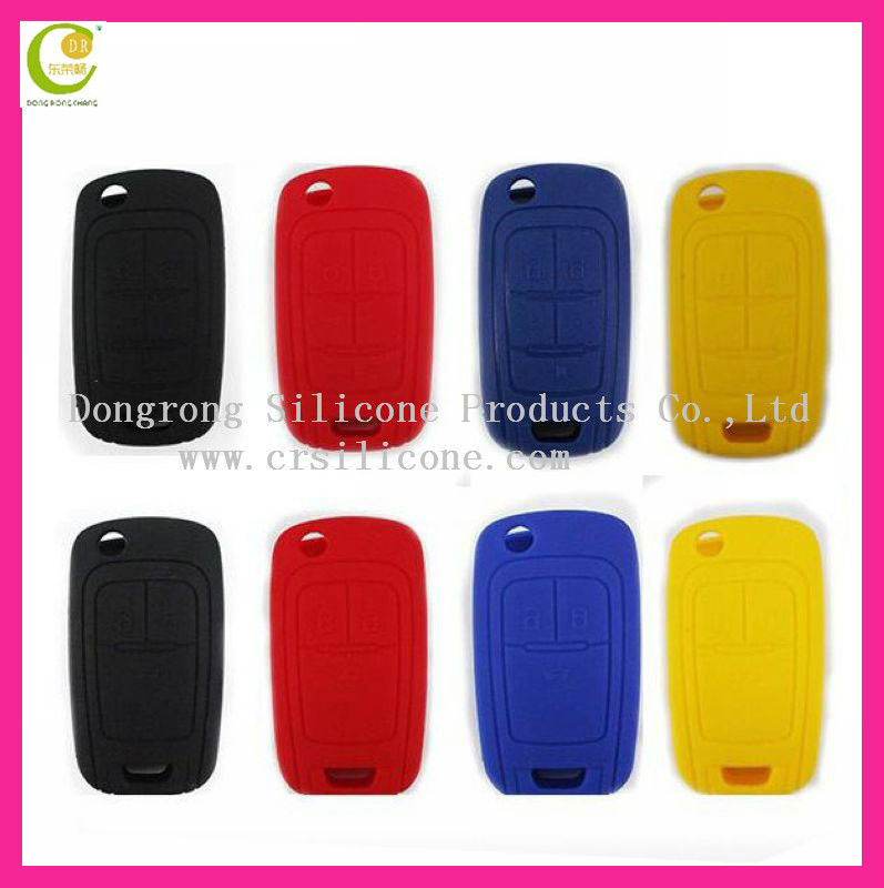 Wholesale Silicone Mini Car Key Case Shell for Toyota/ford/buick/toyoda/kia/nissian/audi/peugeot/bmw/benz/cadillac/citroen