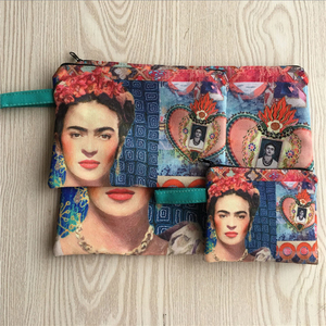 Self-Portrait With Colorful Flowers New Designer Zipper Coin Purse Ladies Purse Wallet