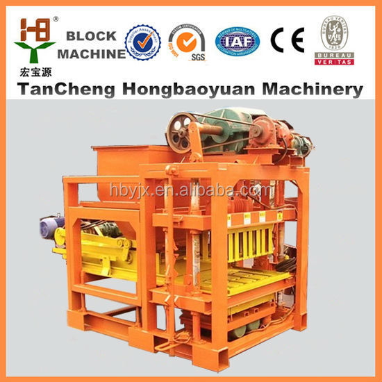Small full auto cement brick making machine with less expensive/Concrete block building machine selling well all the global