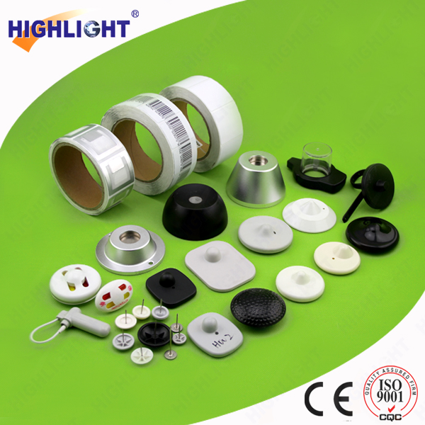 Highlight RL044S Anti-theft EAS RF supermaket security label, EAS radio frequency self adhesive label paper