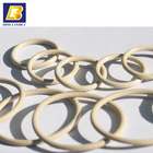 Conductive Elastomer Waveguide Gaskets O ring,silver plated copper sealing for metal boxes,10*2mm military O ring