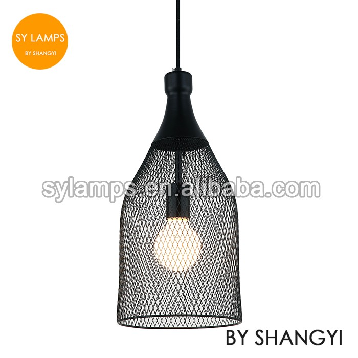 Industrial Style Metal Net Lamp Iron Net Hanging Lamp