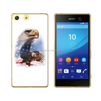 Guangzhou custom print soft gel resin back cover for sony xperia active st17i
