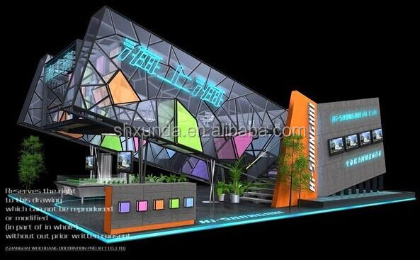 Entrance Trade Show Plexi : Coolest design with transparent plexiglass trade show