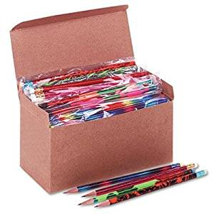 """Moon Products - Woodcase Pencil Treasure Assortment Hb #2 144/Box """"Product Category: Writing & Correction Supplies/Pencils"""""""