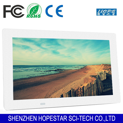 LED display player 12 inch digital photo frame