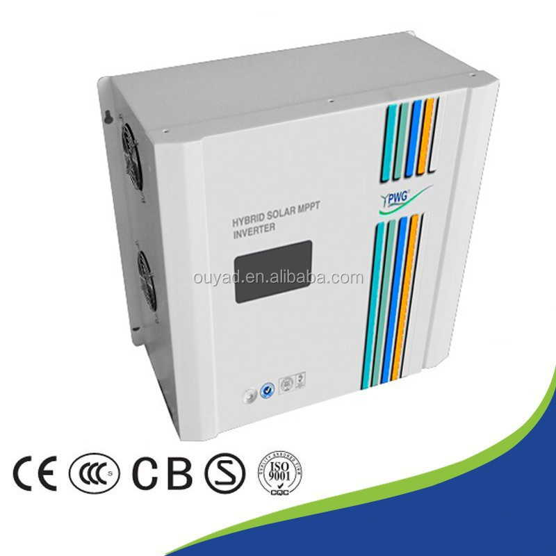 Build-in MPPT solar charge controller, Home Hybrid Inverter 1kw/2kw/3kw/4kw/5kw 48V