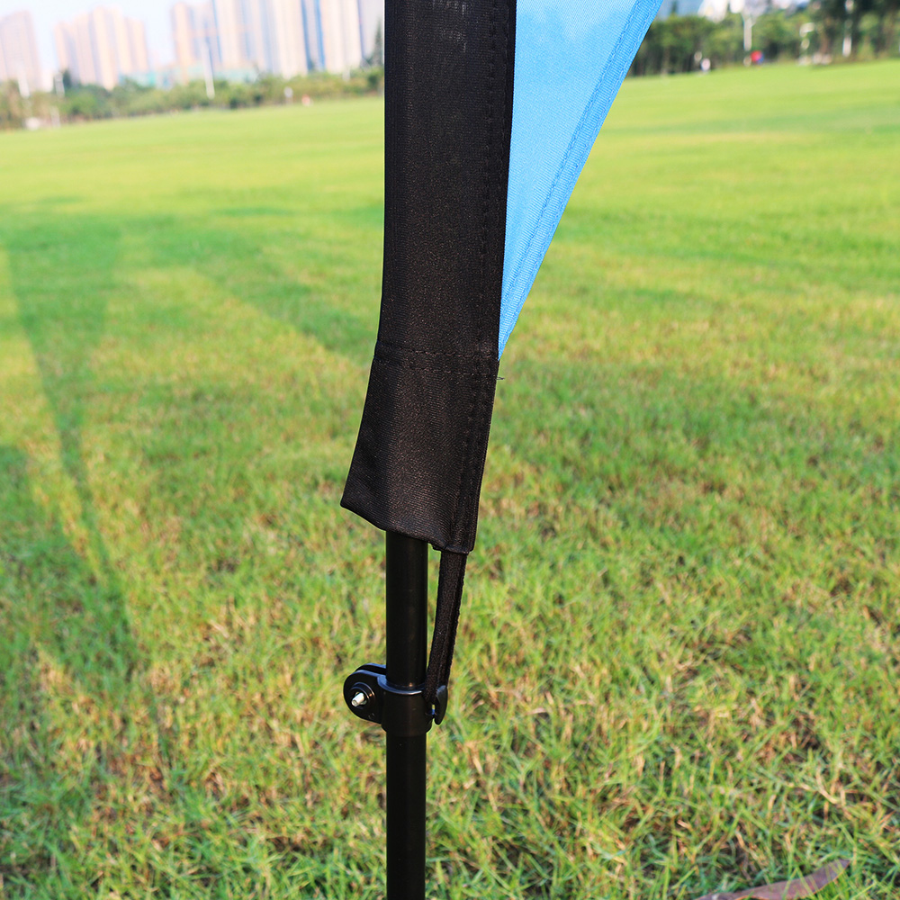 Sunscreen feather flag with bag HOT SALE feather flag hardware aluminium feather flag spike