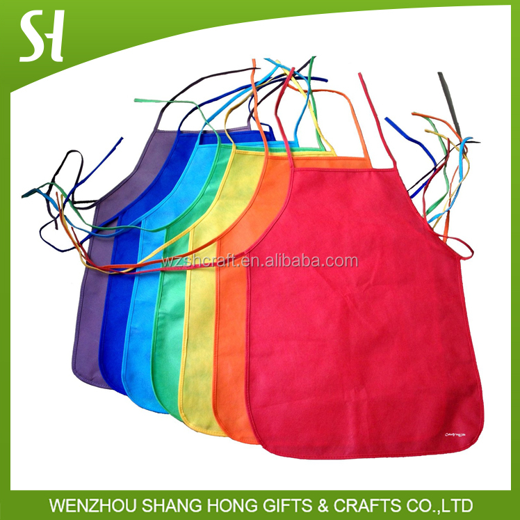 Wholesale colorful promotional kitchen cooking female apron/sexy cooking apron