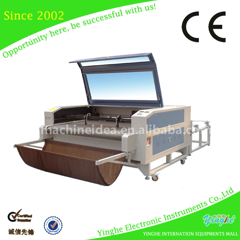 China manufacturer CE approved paper box laser cutter machine