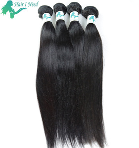 No Chemical Process 100 Remy Indian Relaxed Straight Human Hair