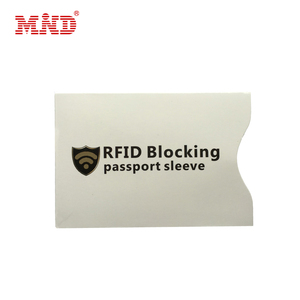 RFID blocking card security protection sleeves credit card secure protection