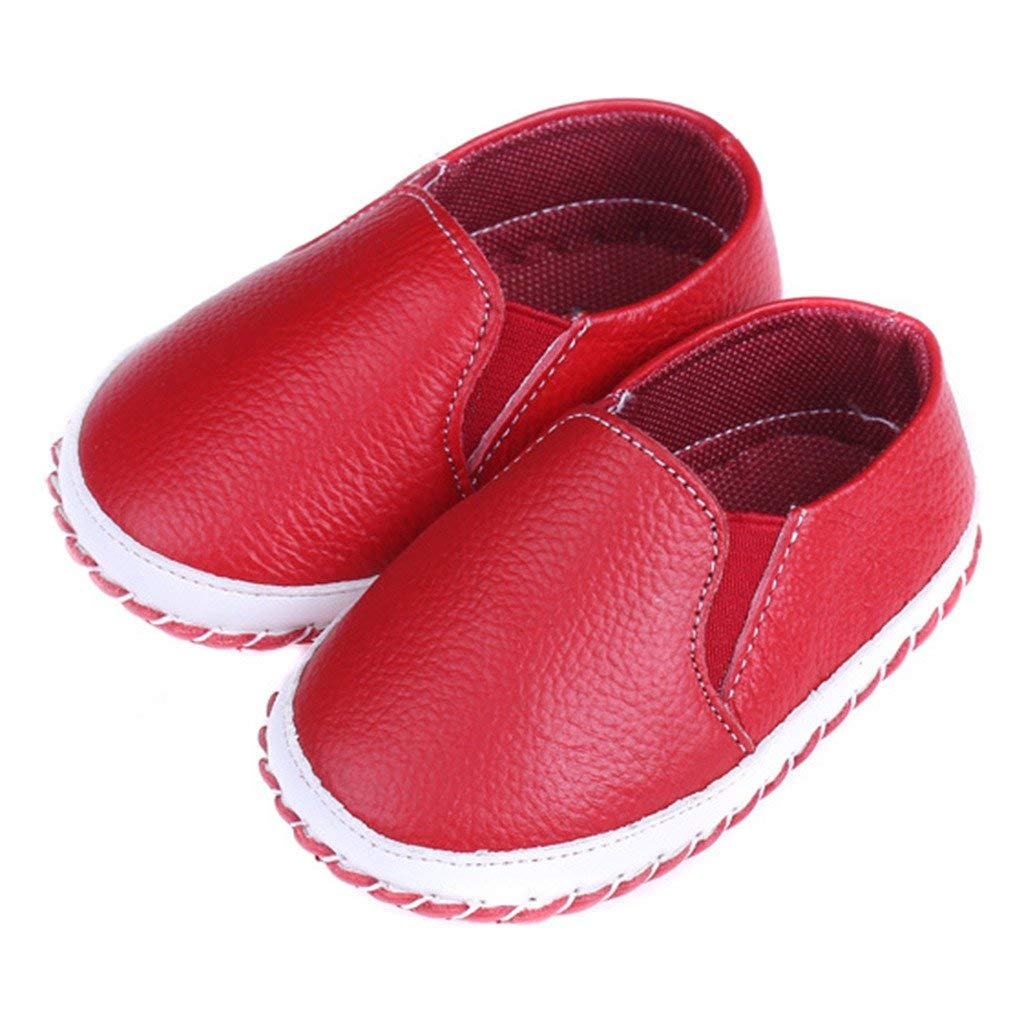 df768a072cd Get Quotations · Eclimb Toddler Girl s Boy s Soft Slip-on Loafers Casual  Shoes
