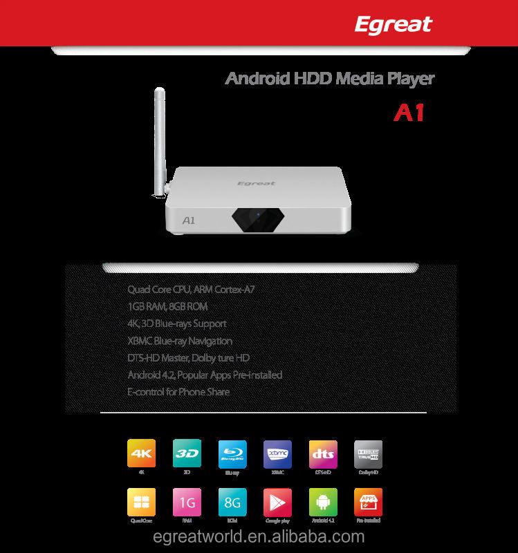 Egreat A1 Tv Box Providers 1080p Tv Player Internet Hdtv