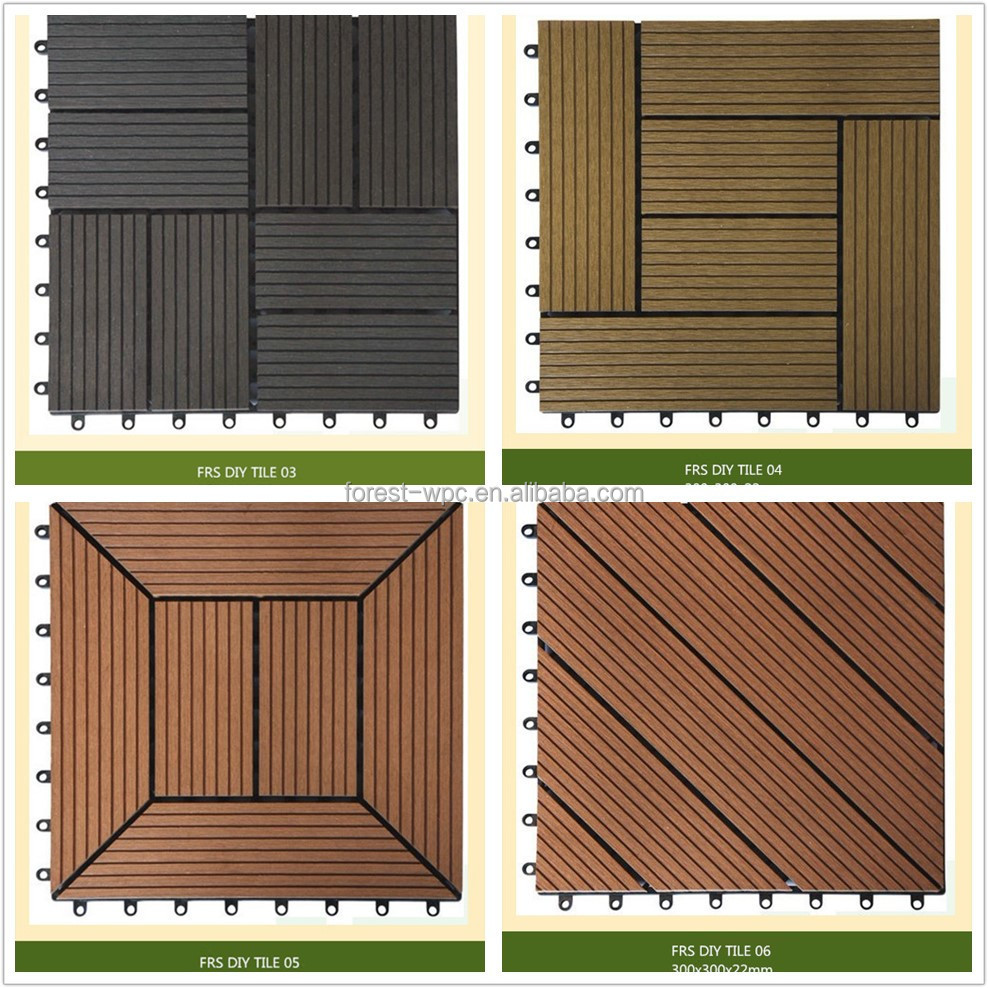 300 300 22mm waterproof outdoor floor covering balcony