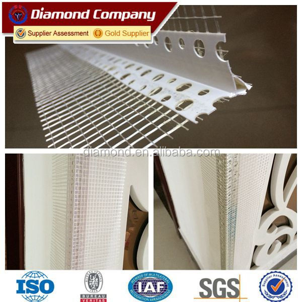 Construction Wall Protect Material Pvc Corner Bead/plaster Drywall ...