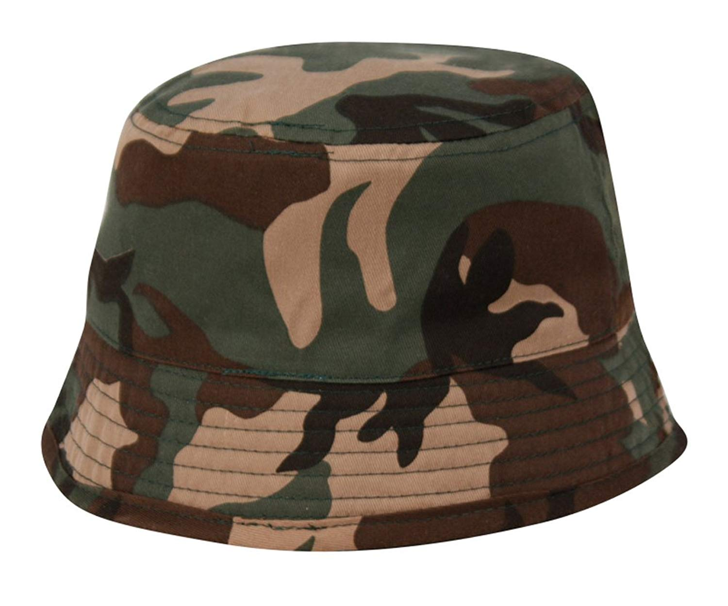 Unisex Indoor/Outdoor Kids Camo Bucket Hat