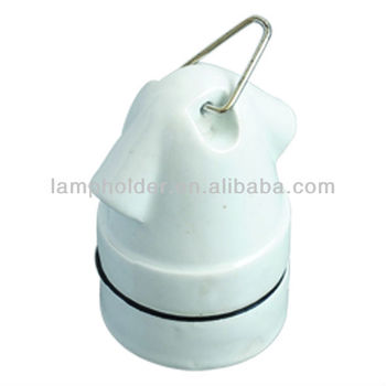 Porcelain Lampholder E27, E27 Lamp Socket, Ceramic Lamp Holder/ Lamp Case