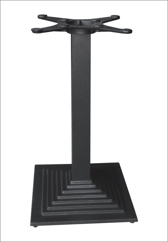 carr pyramide table en fonte base m tallique pied de table pied de meuble hs a058 pieds de. Black Bedroom Furniture Sets. Home Design Ideas