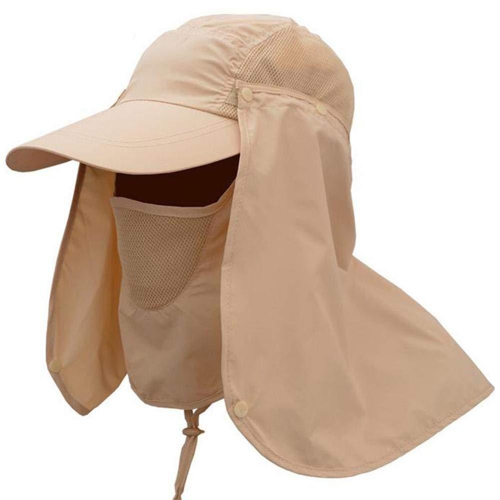 d9740b3a85a Get Quotations · Elogoog Sun Hat Wide Brim Sun Hats for Women Packable UPF  UV Protection Masker Visor Floppy