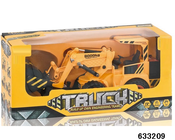 5 channel wire control truck engineering vehicle toy with good price